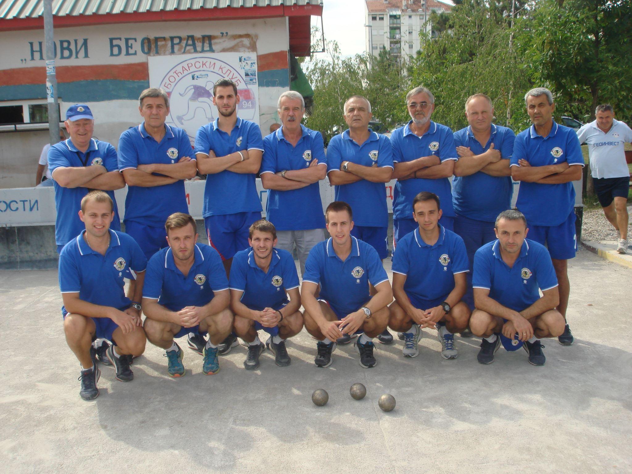BK Novi Beograd, državni ekipni prvak 2016