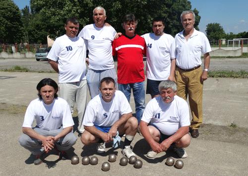 BK Staisic, ekipni prvak druge lige-sever 2016
