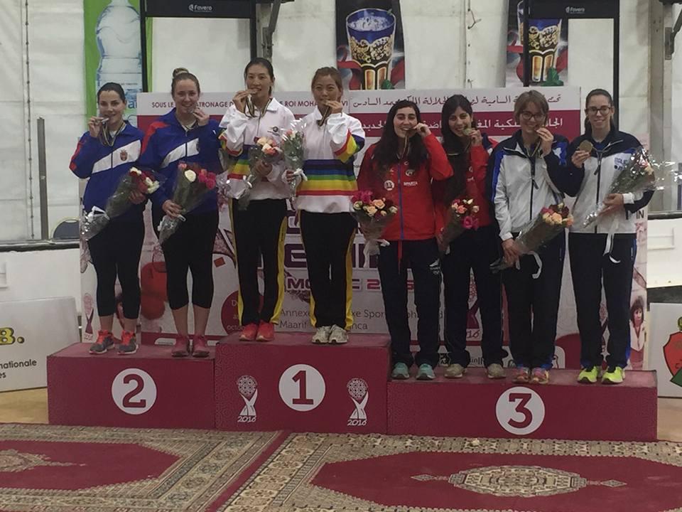 SP za žene, Kazablanka  2016 srebrna medalja