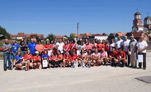 MT Žene u akciji-Ruma SRB 2016 ucesnici turnira