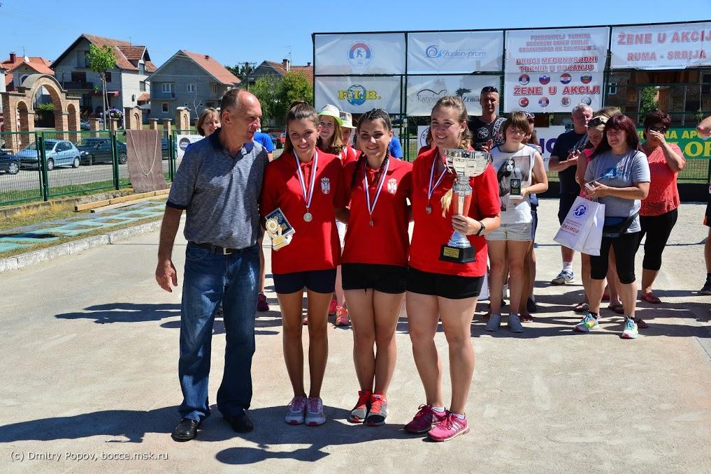 MT Žene u akciji Ruma SRB, 2016 srebrna medalja
