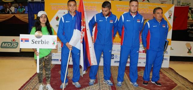 Сребрна медаља на  СП   Казабланка – Мароко