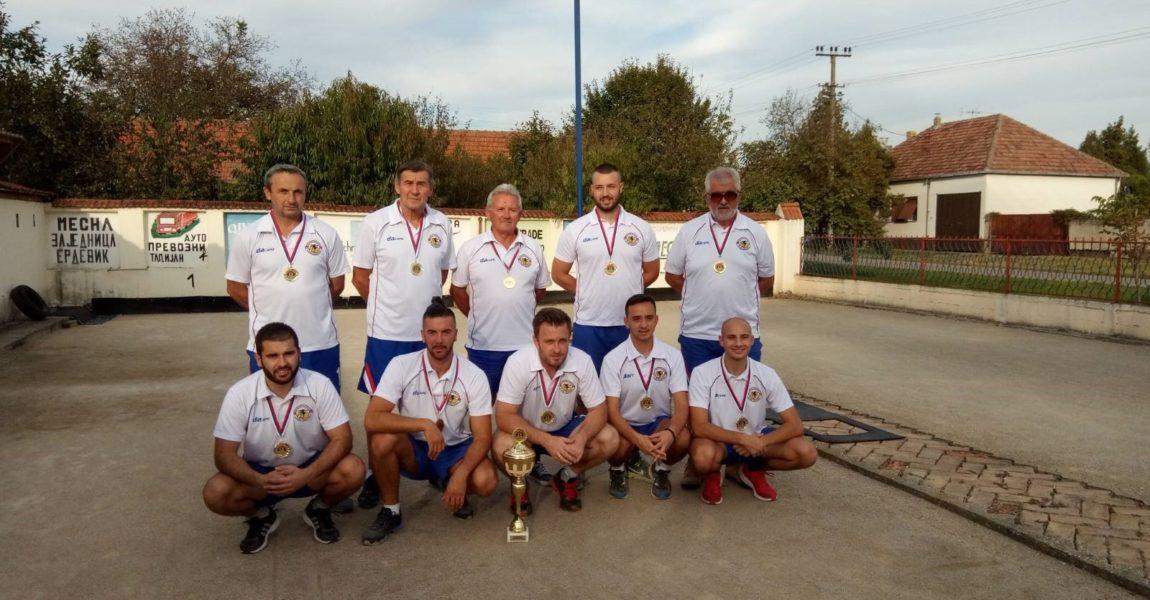 """Boćarski klub """"Novi Beograd"""", osvajač """"Super Kupa Srbije"""" za takmičarsku 2019"""