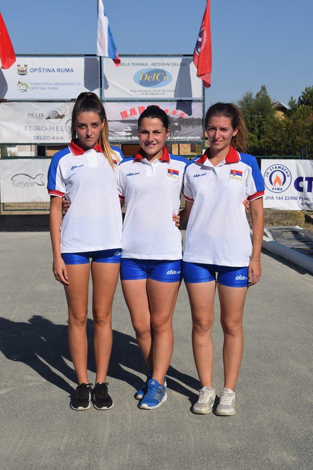 Женска репрезентација 2017