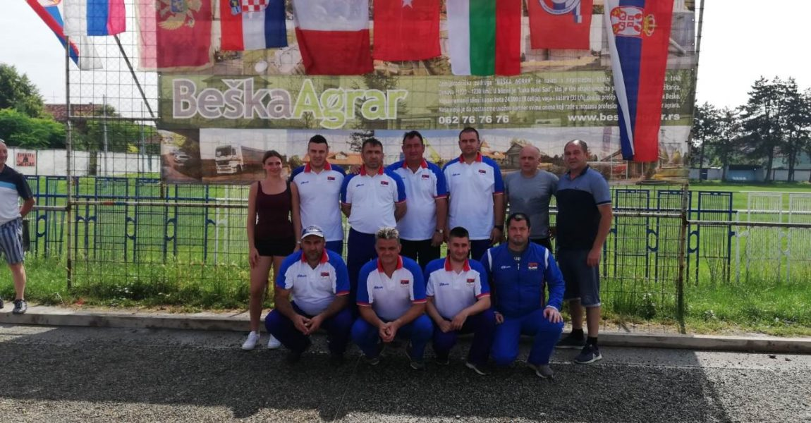 3. Balkansko prvenstvo  u petanci, Beška 2019